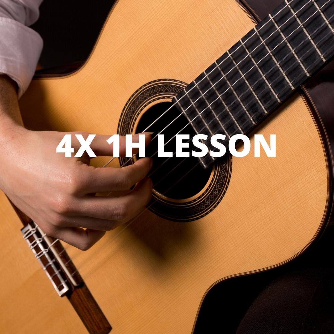 4x 1h Online Lesson