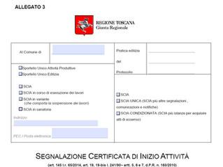 Modulistica Edilizia Regione Toscana COMPILABILE Aggiornata Febbraio 2020