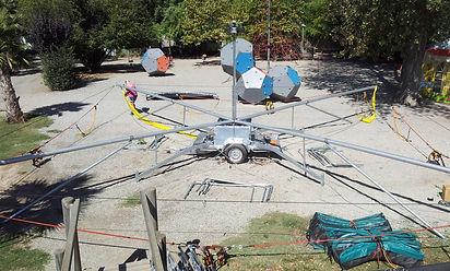 montage skymp trampoline 4 pistes
