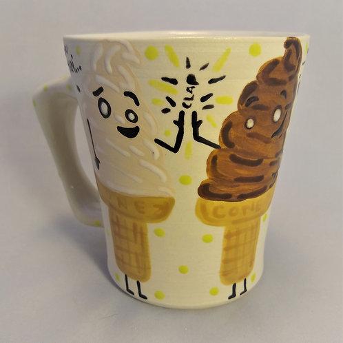 Let's Get Twisted Ice Cream Mug