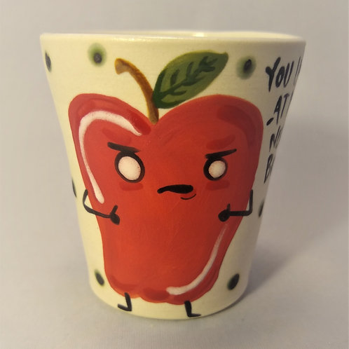 Bad Apple Shot Glass