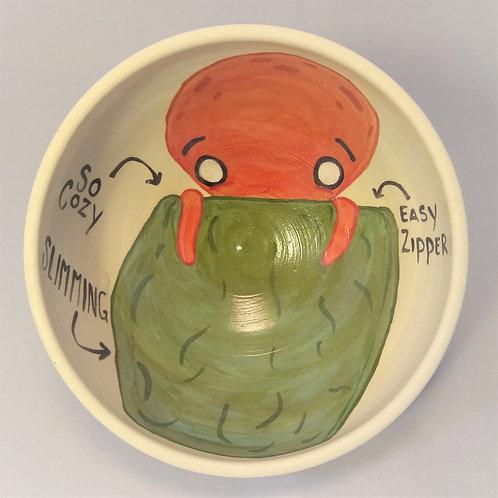Cephalopod Sleeping Sack Bowl