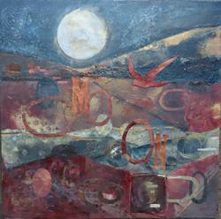The Moon &  The Poet (ii) _resized