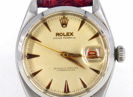 ROLEX OYSTER PERPETUAL DATEJUST, ref 1601, made in 1969