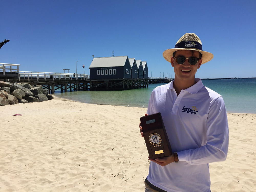 Andrew Donaldson Busselton Jetty Swim Winner 2018