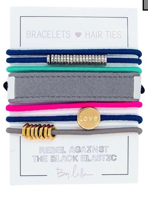 "By Lilla ""Floatie"" Hair Tie Stack"