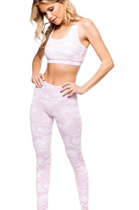 Strut This Teagan Ankle in Pink Camo