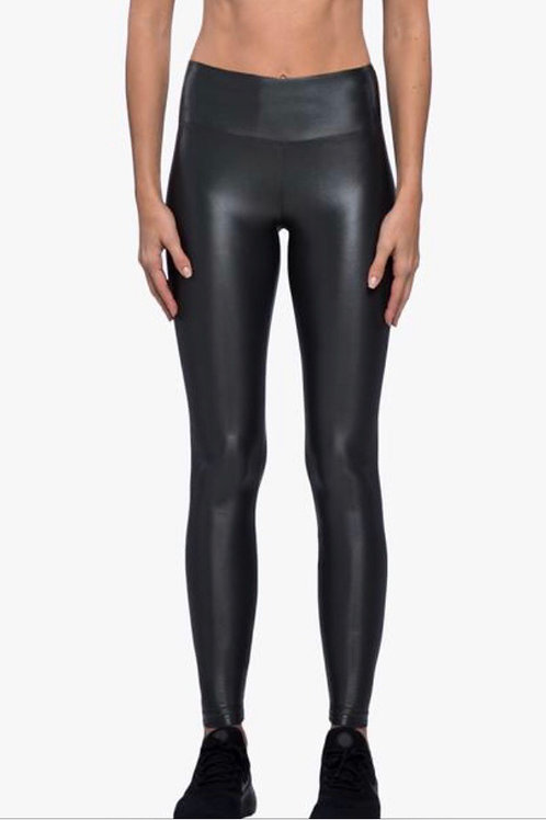Koral Lustrous High Rise Legging in Lead