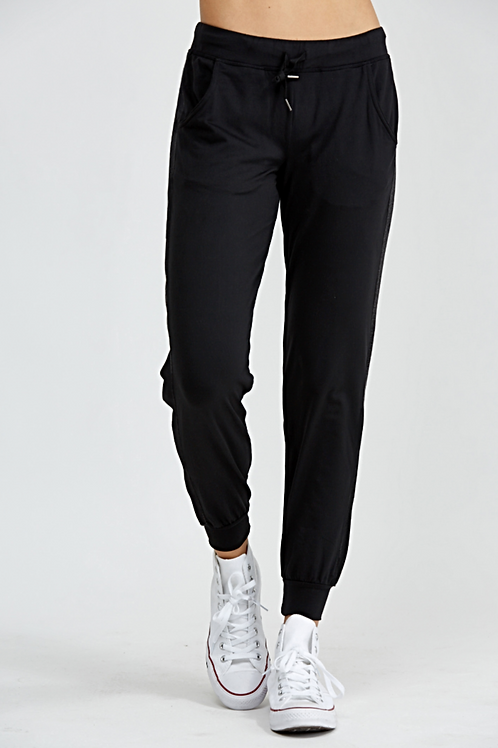 PrismSport Urban Track Pant in Black