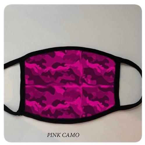 *PRE-ORDER* Reusable Masks in Pink Camo
