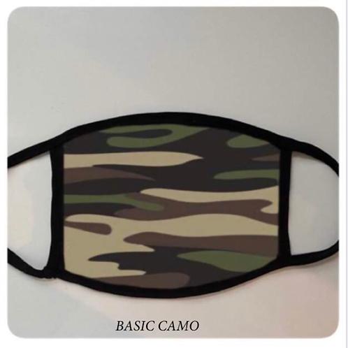 Reusable Masks in Basic Camo
