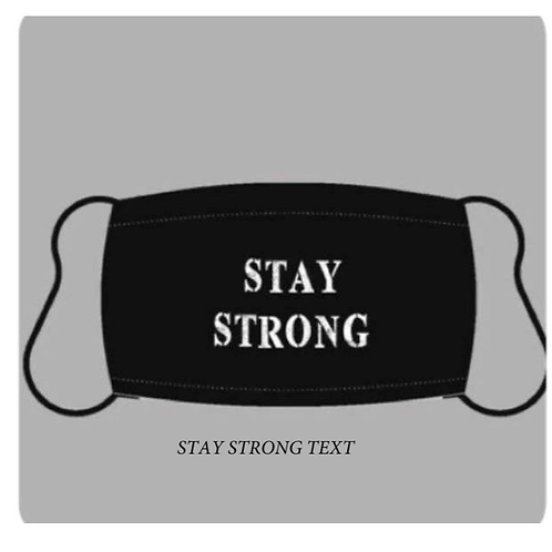 "*PRE-ORDER* Reusable Masks in ""Stay Strong"""