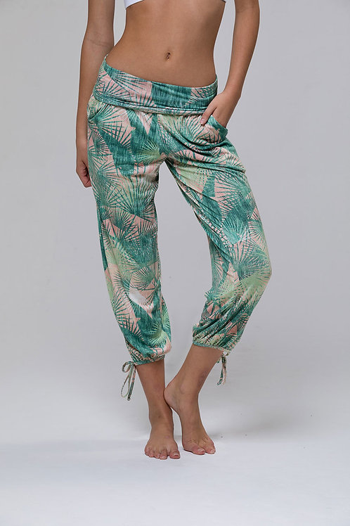 Onzie Gypsy Pant in Retro Palm