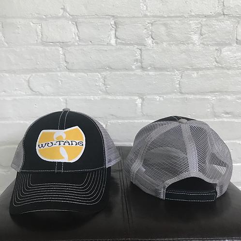 Wu Tang Clan Black/Grey Trucker Hat