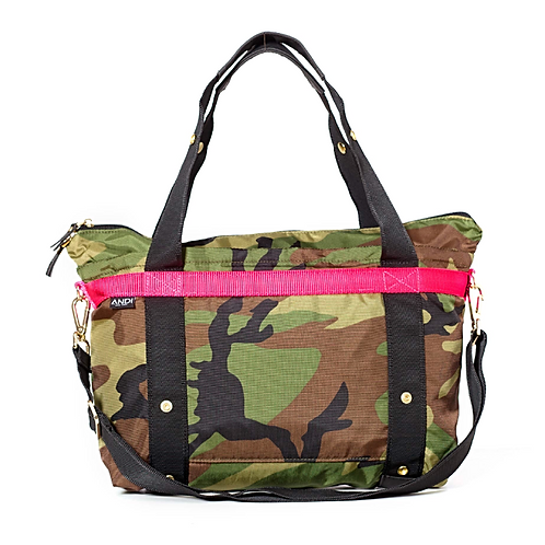 The ANDI Small in Camo Pop Pink