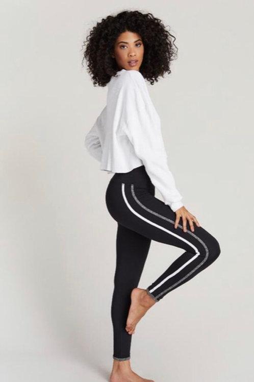 Strut This Havana Legging in Black/White/Grey