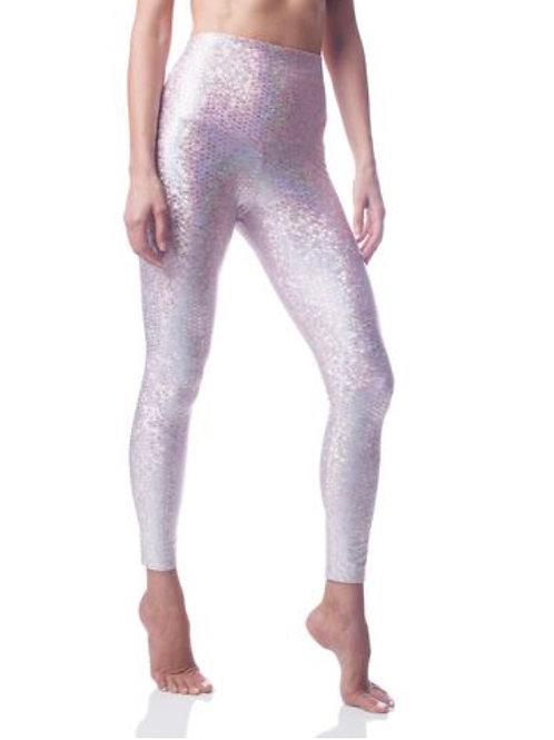 Pink Mermaid Legging (Sneaker Length)