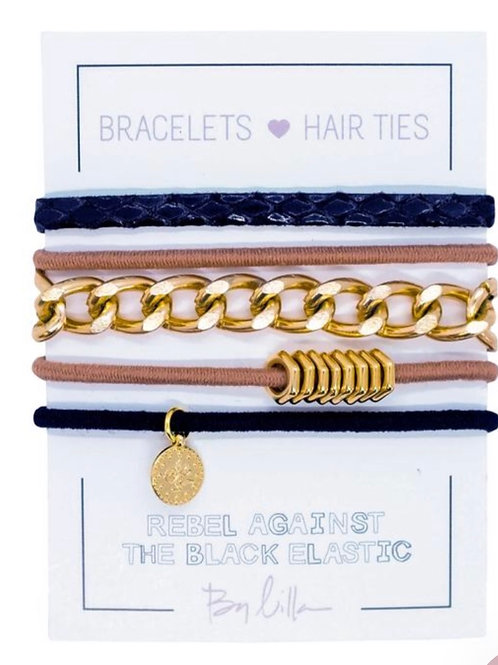 """By Lilla """"Cleo"""" Mini Stack Hair Ties"""