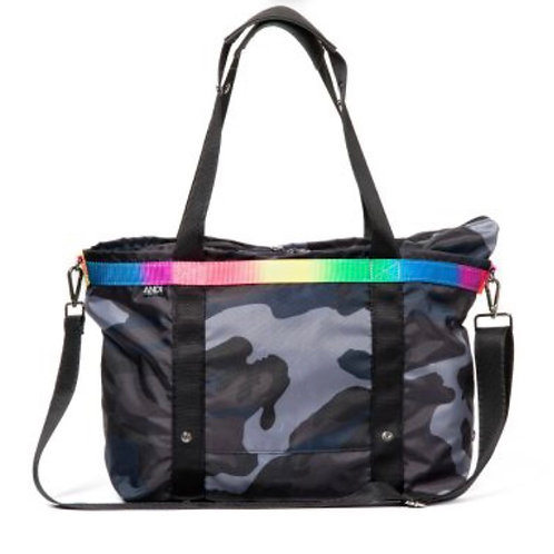 The ANDI Bag in Ink Camo Colorchrome