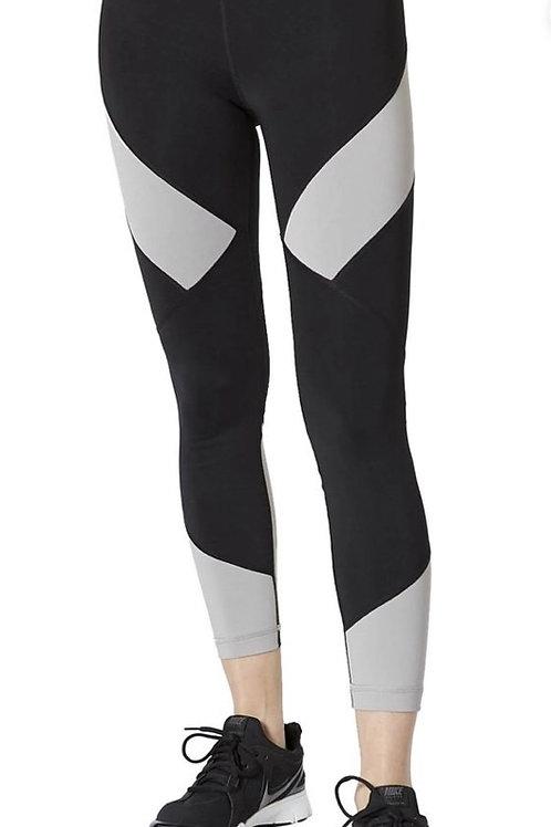 Vimmia Diamond Block Leggings in Black and Grey