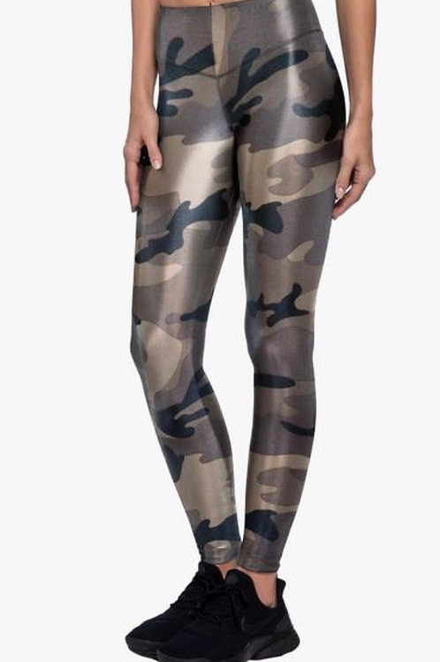 Koral Lustrous High Rise Legging in Camouflage