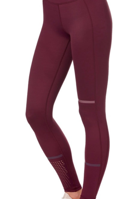 Lilybod Aspen Legging in Plum Red