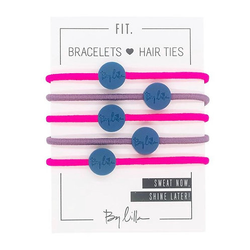By Lilla FIT. Hair Stack in Neon Lavender