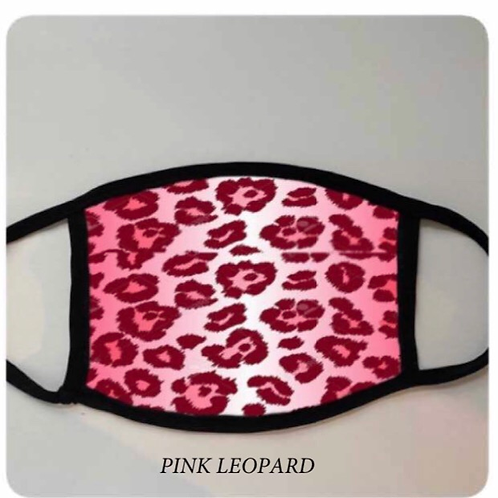 Reusable Masks in Pink Leopard
