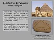 Le théorème de Pythagore dans l'antiquité, la corde à 13 noeuds, les maths par la main, Apprieu, apprentissage des mathématiques, Isère