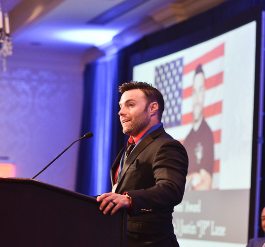 2019 Survivors' Award recipient, Specialist (Ret.) JP Lane