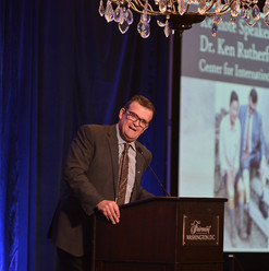 Keynote Speaker Dr. Ken Rutherford, Center for International Stabilization and Recovery