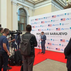 Mine Free Sarajevo Ignites International Efforts for Demining
