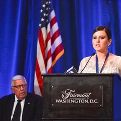 2019 Survivors' Assistance Award recipient, Selma Gušo, Bosnia-Herzegovina