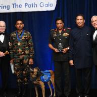 Sri Lankan delegation with Ambassador Perera, LTG Rhame, and Baltimore