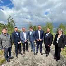 Mine Free Sarajevo delegation representatives