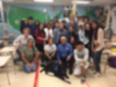 MLI and Poolesville group pic.jpg