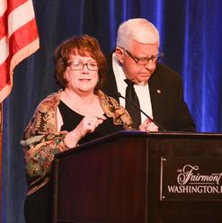 Senator Mike Enzi and Mrs. Diana Enzi