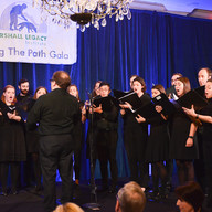 Entertainment was provided by the 18th Street Singers