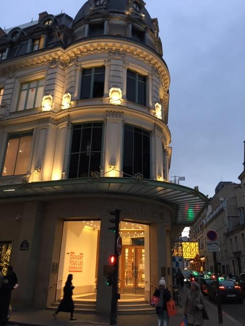 le bon marche shopping paris
