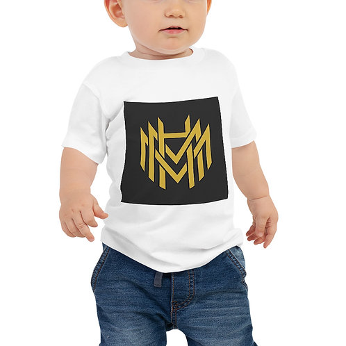 MHM Gold Logo Baby Jersey Short Sleeve Tee