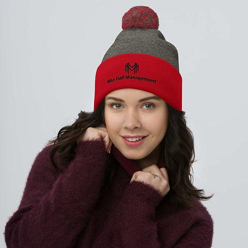 MHM Unisex Pom-Pom Beanie Hat