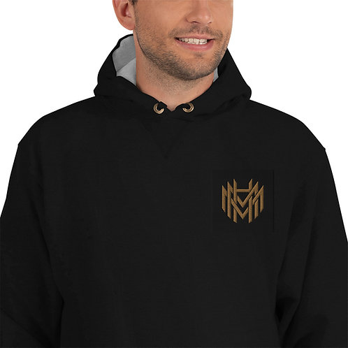 MHM Gold Logo Champion Hoodie