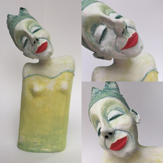 Woman with a Green Crown