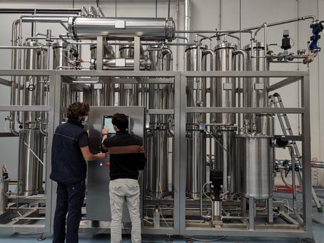 Sistema de tratamento de água para a indústria farmacêutica