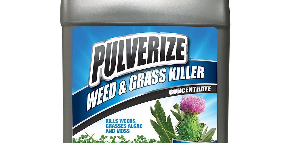 PULVERIZE® Weed & Grass Killer 2.5 Gallon Concentrate