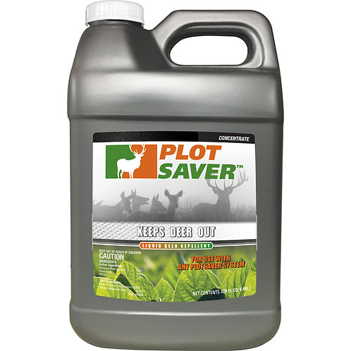 Plotsaver Liquid Repellent, 2.5 Gallon Concentrate