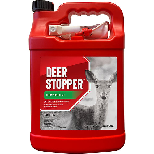 Deer Stopper Animal Repellent, Gallon Ready-to-Use with Nested Sprayer