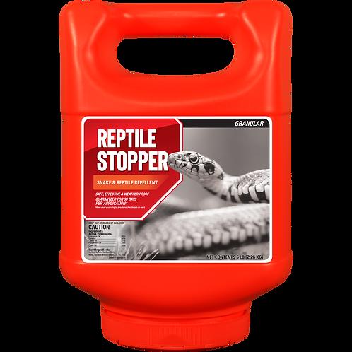Reptile Stopper 5lb Granule Shaker Jug