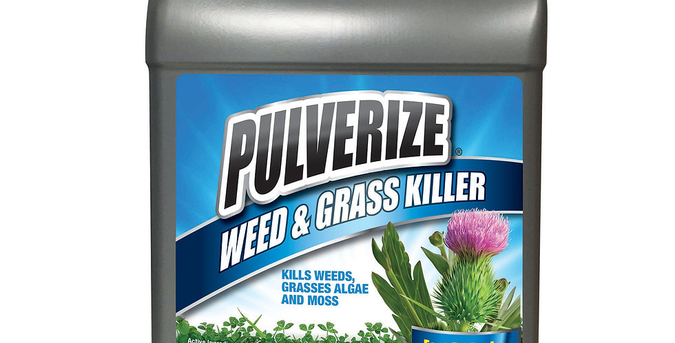 PULVERIZE® Weed & Grass Killer 1 Gallon Refill Ready to Use