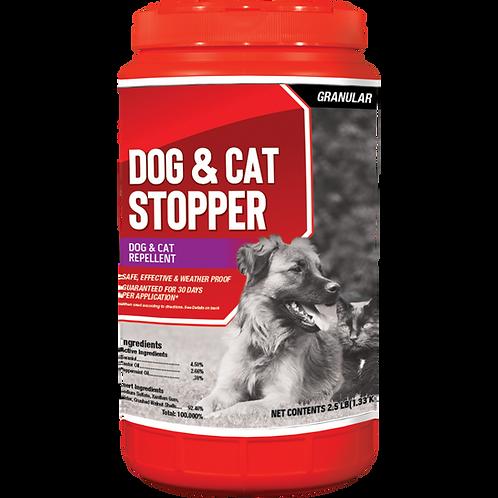 Dog & Cat Stopper Animal Repellent, 2.5# Ready-to-Use Granular ShakerJug